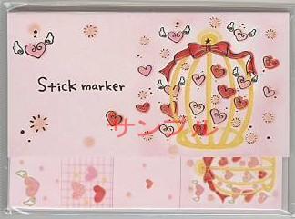 もん・Stick Marker「ハート-3」