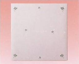 CLOTHES・PIN社もんシリーズクローバー柄のL判フォトアルバム(フリー台紙 20枚)です。