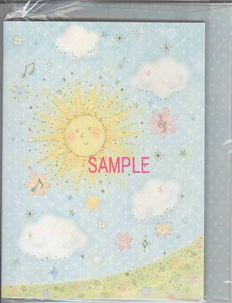 たけいみきデザインの2つ折色紙(CLOTHES・PIN社製)