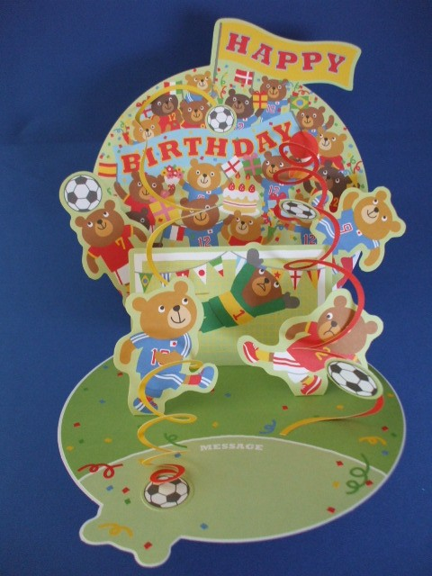 【EAR-612-580】サッカー好きな人への誕生日祝いカード 商品詳細紹介・注文のページへ進む