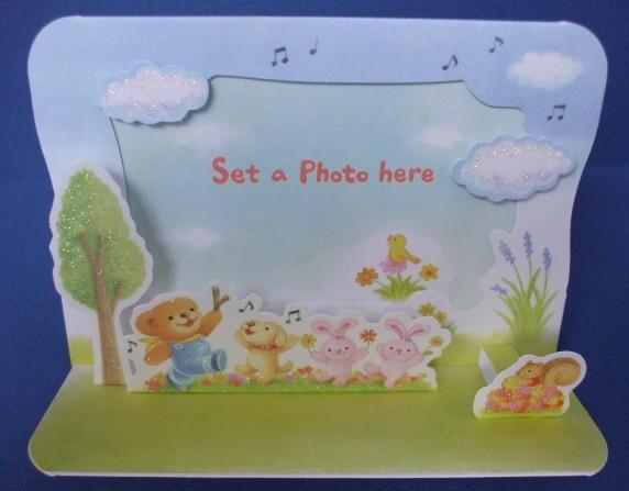 【EAR-600-402】bears' wish seriesのフォトフレームカード 商品詳細紹介・注文のページへ進む