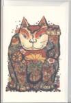 本多豊國グリーティングカード「11匹の猫」